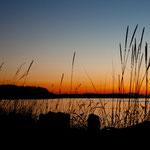 traumhafte Sonnenuntergänge von der Terrasse von Terry & Phyl