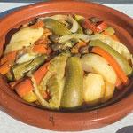 ...die köstliche Gemüse Tajine