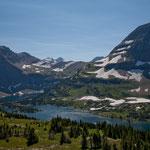 """""""Gunsight Mountain"""" - 2.821 m und rundherum von Gletschern geschliffen"""