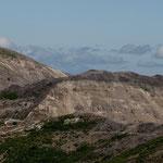 im Hintergrund der Mt. Adams