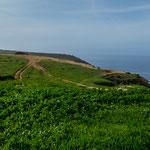 ...grandiose Steilküste...