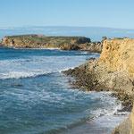 Auch hier eine grandiose Steilküste...