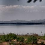 "Der ""Lage del Cuitzeo"" - zweitgrößter See Mexicos"