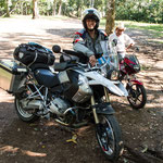 ....Andreas aus der Schweiz mit dem Motorrad nach Südamerika unterwegs....