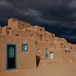 Das Pueblo Nordhaus mit vielen Wohnungen