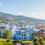 Chefchaouen gilt als die schönste Stadt Marokkos...