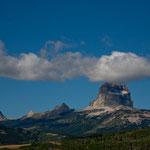 """""""Chief Mountain"""": ein heiliger Berg für die """"Blackfoot und die Bood Indians"""""""