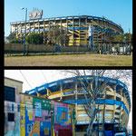 """...und das weltberühmteste Fussballstadium der """"Boca Juniors""""..."""