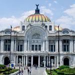 """Der """"Palacio de las Bellas Artes"""""""