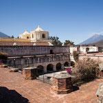 """Kirche und Kloster """"La Merced"""" - mehrmals zerstört und wiederaufgebaut...."""