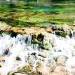 .... und hat wunderbare Farben und reinstes Wasser