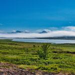 Immer wieder faszinierte uns die Wolkenformationen in Island...