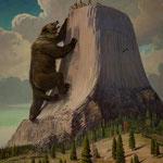 Die Geschichte vom Bär und den 7 Indianermädchen