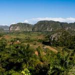 Das Vinales Tal im Westen von Kuba ist landschaftlich wunderschön.....