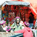 Malinalco hat auch eine Hippie Szene