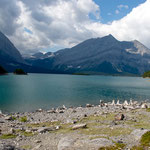 "der ""Upper Kananaskis Lake"""