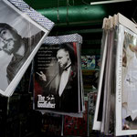 ...Berühmtheiten unter sich: Fidel Castro, der Pate und der Papst aus Argentinien.
