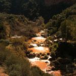 ...durch die heftigen Regenfälle war das Wasser braun - auch reizvoll...