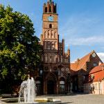 ...die mittelalterliche Innenstadt von Brandenburg Stadt...