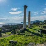 Phnönizische und römische Baukultur gemischt