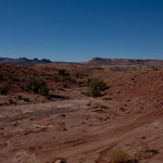 "Die ""Willow Spring Rd"" durch die Wüste Utahs"