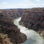 """Der 300 m tiefe und schmale """"Bighorn Canyon"""""""