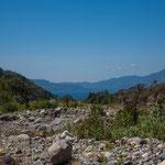 .....Blick auf den Lago Atitlan.....