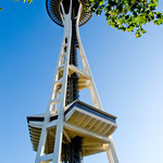 "Die ""Space Needle"" mit Restaurant"