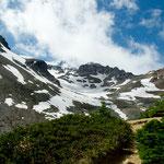 ..... bei unserer Wanderung zum Gipfel .....