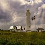 immer wieder faszinierend in Dänemark - die blitzschnell wechselnden Wolkenformationen...