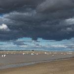 ...uns haben die Wolken- und Lichtverhältnisse fasziniert...