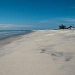 Punta Charme bietet breitesten feinen Sandstrand.....