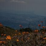 ....Blick auf die Ebene von Granada.....