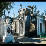"""...der berühmteste Friedhof Argentiniens: hier ist auch """"Evita Peron"""" - die Nationalheilige - begraben."""