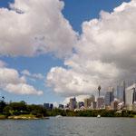 die Skyline von down town Sydney