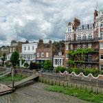 ...der Stadtteil Hammersmith an der Themse...