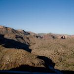 ....auch die vielen Seiten-Canyons sind einfach toll....
