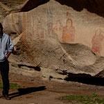 unser Guide - ein Ute Indianer - hat uns begeistert