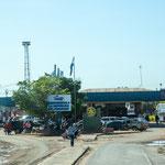 Die Grenze Paraguays bei Asuncion...