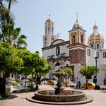 Die wunderschöne Kathedrale von diesem kleinen Comala