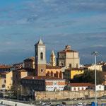 Blick auf Livorno
