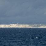 Von hier aus sieht man sehr gut die Felsenküste von Bonifacio (Korsika)
