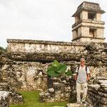 das Observatorium - die Mayas waren hervorragende Astronomen