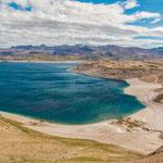 ...und einem tiefblauen Lago Maule...