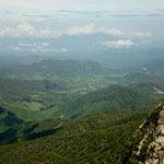 Blick vom Cerro del Bufa auf das wunderschöne Hügelland