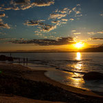 ...mit einem Caipirinha wird der Sonnenuntergang von Minute zu Minute schöner...
