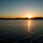 ...dafür hatten wir tolle Sonnenuntergänge...