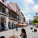 """...die Schönheit Saltas ist fasst ausschließlich am zentralen """"Plaza de Armas""""..."""
