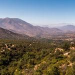 """...Blick über den """"Parque Nacional las Chinchillas..."""