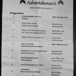 Konzertprogramm